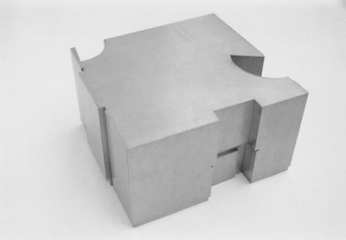 RAUM 05 Metalen schaalmodel